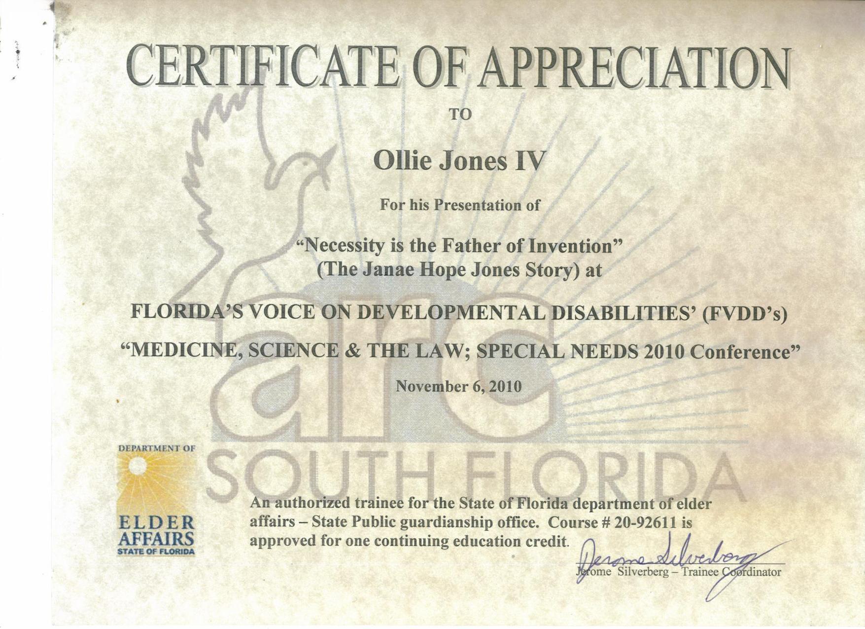 certificate special education ga